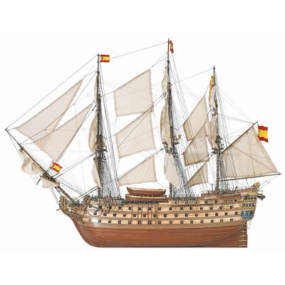 Artesania Maquette bateau en bois : Navio Santa Ana