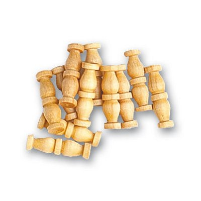 Artesania Accessoire pour maquette de bateau en bois : double colonne 12 mm