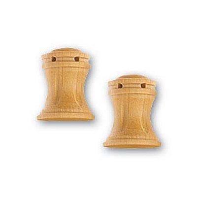 Artesania Accessoire pour maquette de bateau en bois : cabestan en bois vertical 10 mm