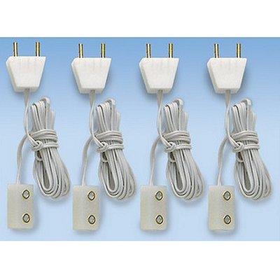 Artesania Accessoires pour maison de poupées : eclairage : 4 prise et connexions