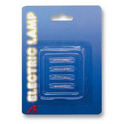 Artesania Accessoires pour maison de poupées : eclairage : 4 mini ampoules à filament