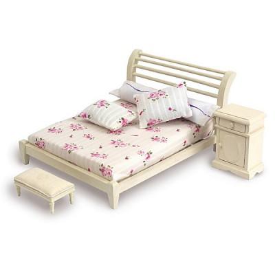 Artesania Accessoires pour maison de poupées : mobilier et accessoires : lit double