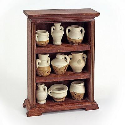 Artesania Accessoires pour maison de poupées : mobilier et accessoires : meuble et collection d'amphores
