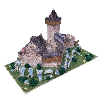 Aedes Maquette en céramique : château de falkenstein, obervellach, autriche