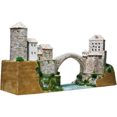 Aedes Maquette en céramique : pont stari most, mostar, bosnie-Herzégovine