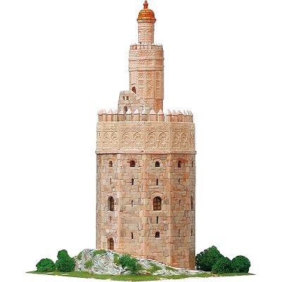 Aedes Maquette en céramique : torre del oro, séville, espagne