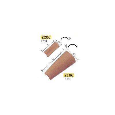 Aedes Maquette en céramique : accessoires : 25 tuiles arabes : 1/10