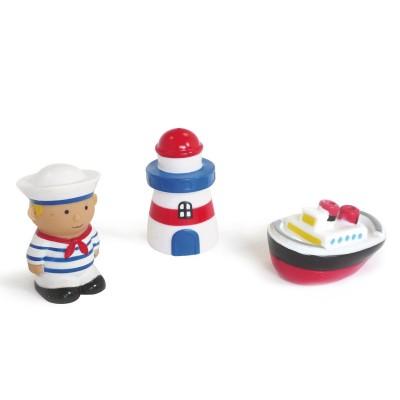Ludi / jbm jouet pour le bain aspergeurs : marin
