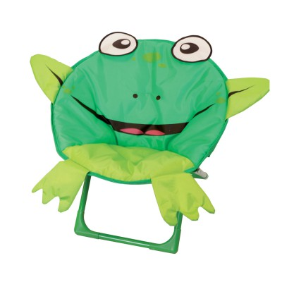 Ludi / jbm fauteuil pliable z'ani sièges : grenouille