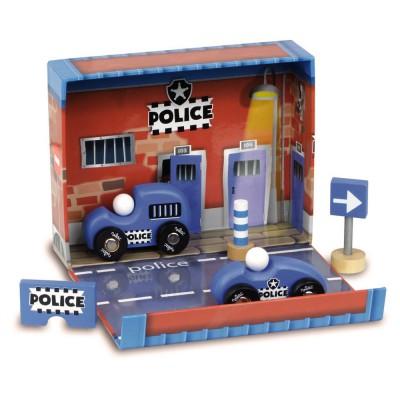 Vilac Coffret de police : Camion et voiture de police