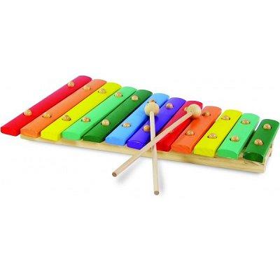 Vilac Grand xylophone en bois 12 notes