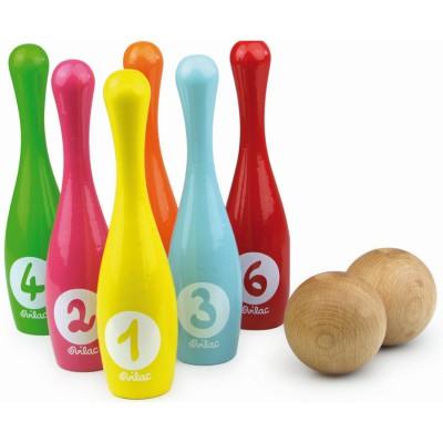 Jeu de quilles de bowling vilac magasin de jouets pour for Decoration quille de bowling