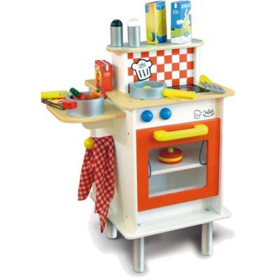 cuisine duo en bois vilac magasin de jouets pour enfants. Black Bedroom Furniture Sets. Home Design Ideas