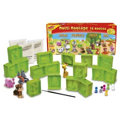 multi moulage en pl tre 16 moules joustra magasin de jouets pour enfants. Black Bedroom Furniture Sets. Home Design Ideas