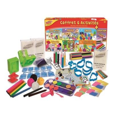 Joustra Coffret 6 activités et coloriage