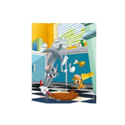 Mb Jeux puzzle 60 pièces : tom et jerry, dans la cuisine