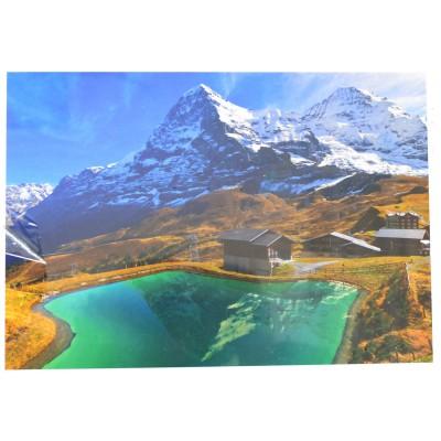 Mb Jeux puzzle 500 pièces : alpes suisses, canton de berne