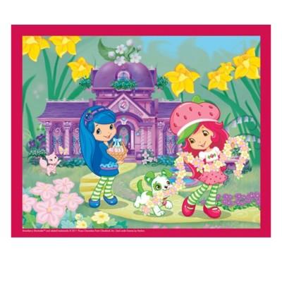 Mb Jeux puzzle 60 pièces : charlotte aux fraises et ses amis