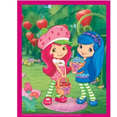 Mb Jeux puzzle 45 pièces - charlotte aux fraises : la cueillette des fruits