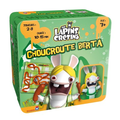 Dujardin Les lapins crétins : choucroute berta