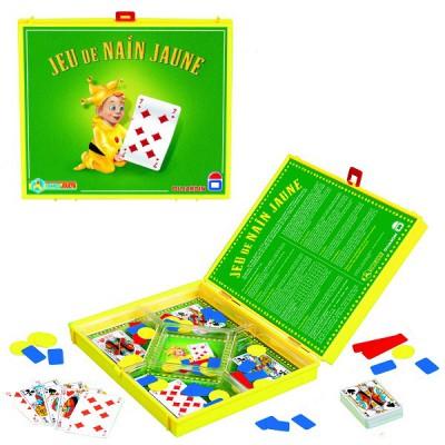 Le v ritable jeu du nain jaune dujardin magasin de for Dujardin jouet
