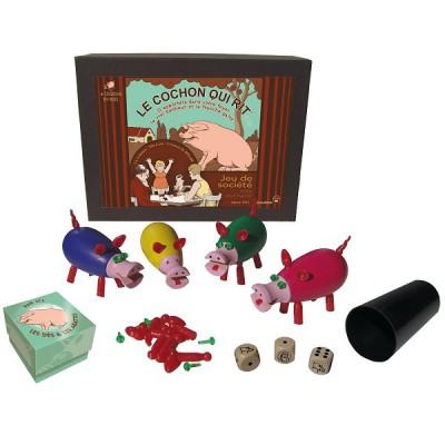 Le cochon qui rit version deluxe dujardin magasin de for Dujardin jouet