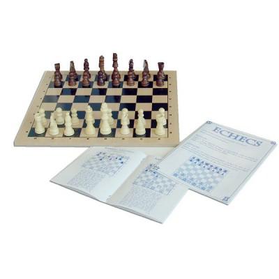 Dujardin Jeu d'échecs - série noire