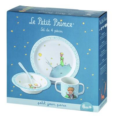 Petit Jour paris coffret repas 4 pièces : le petit prince