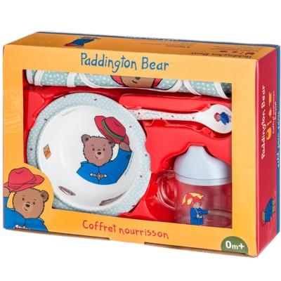 Petit Jour paris coffret cadeau nourrisson : paddington bear