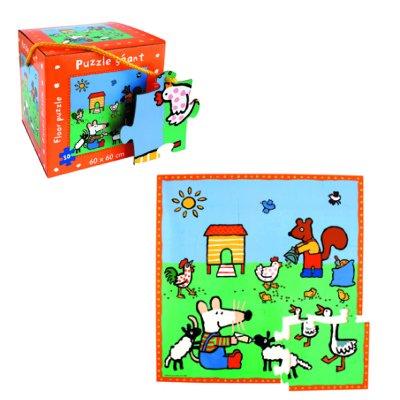 puzzle 30 pi ces puzzle de sol g ant mimi la souris petit jour paris magasin de jouets pour. Black Bedroom Furniture Sets. Home Design Ideas