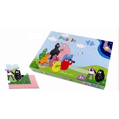 puzzle 24 pi ces family barbapapa petit jour paris magasin de jouets pour enfants. Black Bedroom Furniture Sets. Home Design Ideas
