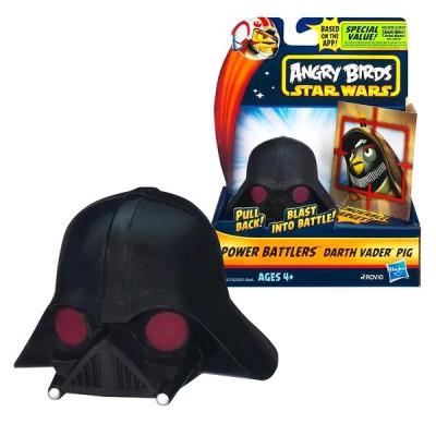 Hasbro Figurine Angry Birds Star Wars : Power Battlers : Dark Vador Pig