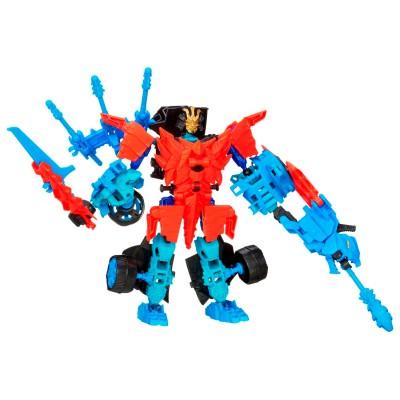 Hasbro Figurine Transformers : Construc-Bots Dinobots Warriors : Drift et Roughneck Dino