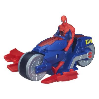 figurine spiderman avec moto
