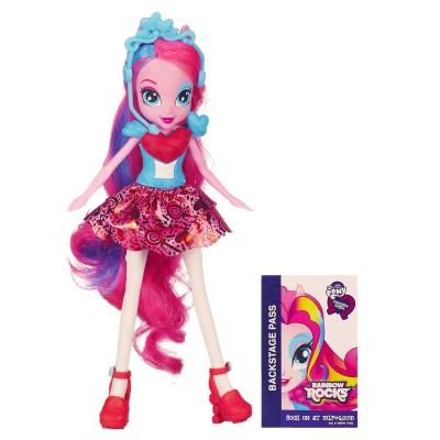 Hasbro Poupée mannequin Mon Petit Poney Equestria Girls : Pinkie Pie