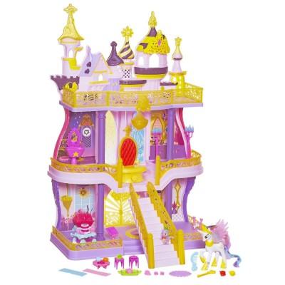 Hasbro Château mon petit poney : royaume de canterlot