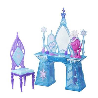 Hasbro Univers poupées La Reine des Neiges (Frozen) : Coiffeuse d'Elsa