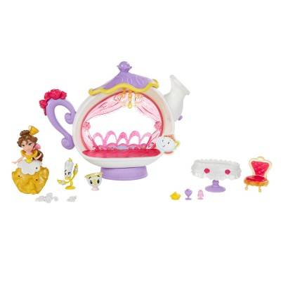 Hasbro Mini univers Disney Princesses : Le salon de thé enchanté de Belle