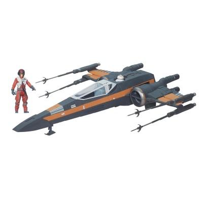 Hasbro Vaisseau Star Wars Medium Deluxe : X-Wing de Poe Dameron