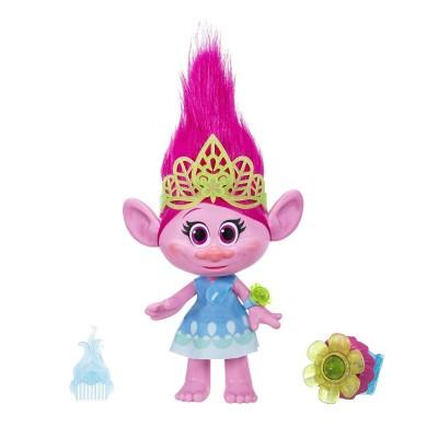 Hasbro Poupée interactive Trolls : Poppy chantante