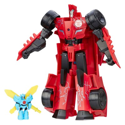 Hasbro Figurine Transformers Robots in Disguise : Power Surge : Sideswipe