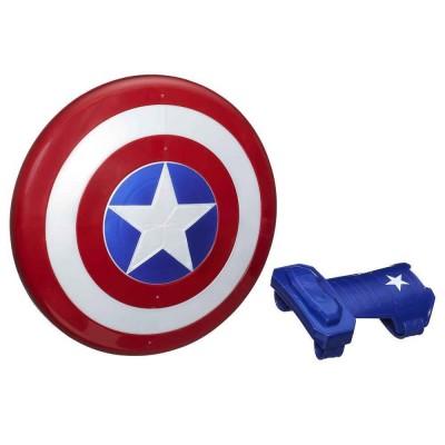Hasbro Bouclier et gants magnétiques captain america