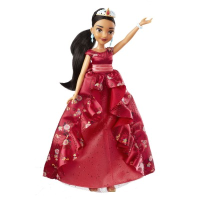 Hasbro Poupée disney : elena d'avalor et sa robe royale