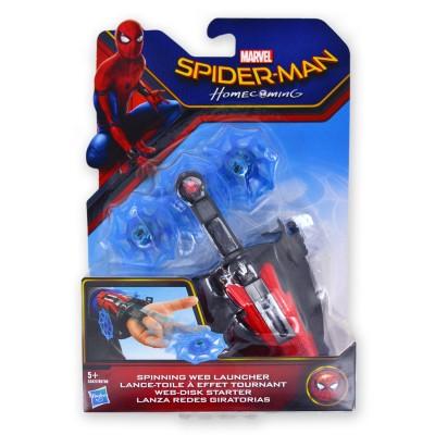Hasbro Accessoire de combat spiderman : lance-Toile à effet tournant
