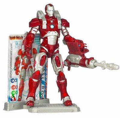 Hasbro Iron Man Movie 2 - Iron Man et son armure Inferno Mission