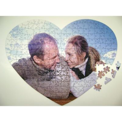 Puzzle Photo puzzle personnalisé 240 pièces coeur