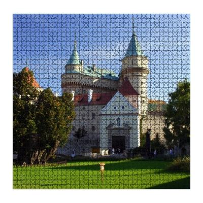 Puzzle Photo puzzle personnalisé 1500 pièces - carré