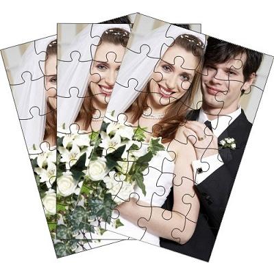 Puzzle Photo pack de 12 puzzles personnalisés de 24 pièces