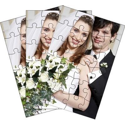 Puzzle Photo pack de 100 puzzles personnalisés de 24 pièces
