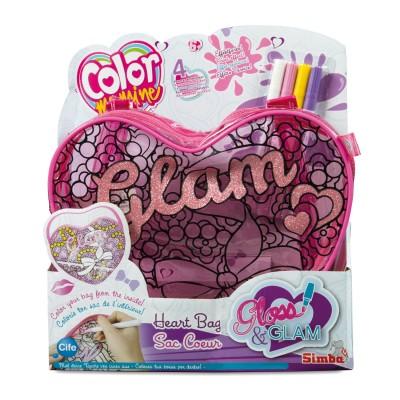 Simba Sac Color Me Mine Gloss & Glam : Sac coeur